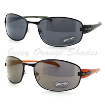 MENS X-Loop Sunglasses ROUND OVAL Metal Frame CLASSIC Casual SPORTY Shades NEW - $7.15