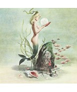 Whimsical 'Fish School' Color Pinup by Ron Wic... - $9.95