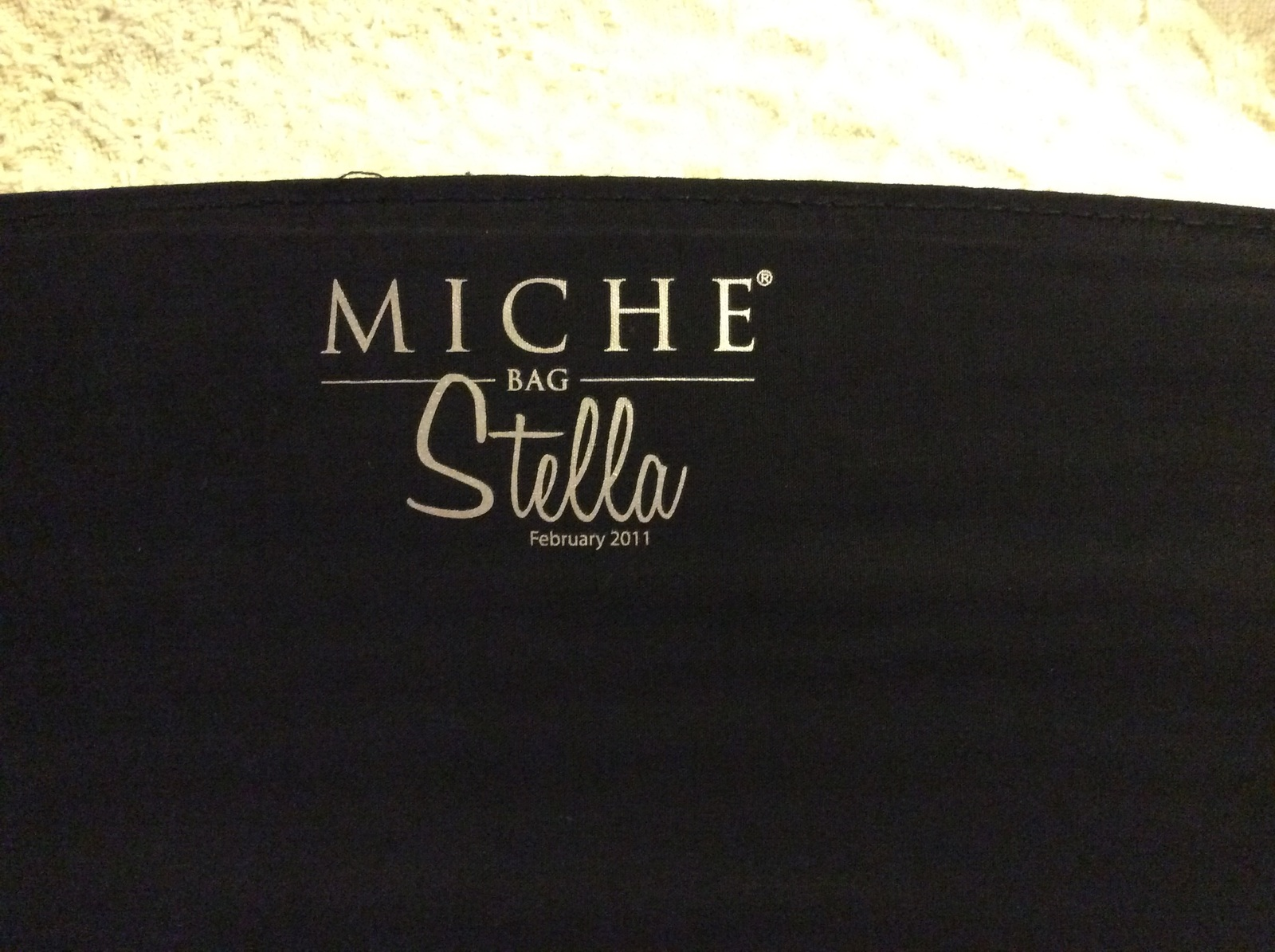 Miche Classic Shell Stella Black/Cream Faux Snakeskin