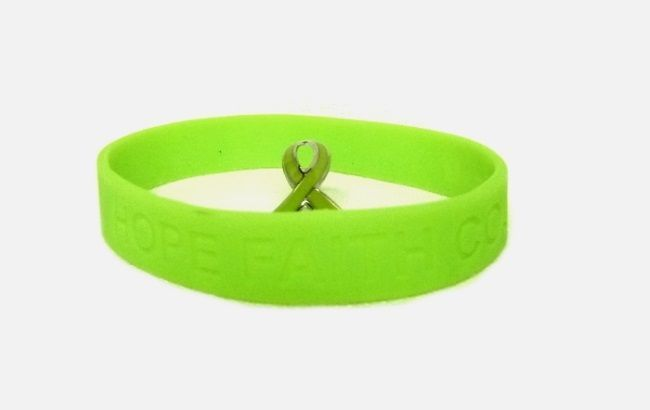 8172f80f8d48 Lime Green Lapel Pin Ribbon Silicone and 50 similar items