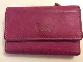 Fossil Folding Wallet Pink Leather  - $29.95