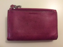 Fossil Folding Wallet Pink Leather  image 3