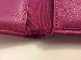 Fossil Folding Wallet Pink Leather  image 5