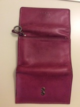 Fossil Folding Wallet Pink Leather  image 7