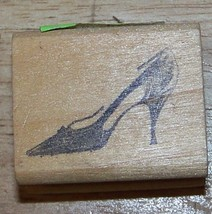High heeled Shoe vintagE 1960's style Rubber Stamp  ab - $13.63