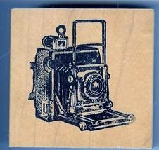 Crown  Graphic Graflex Top Range Camera Rubber Stamp lg - $25.68