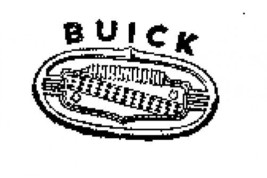 BUICK  special 1951-52 logo rubber stamp vintage car ab - $13.63