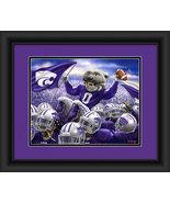 "Kansas State Wildcats ""Team Celebration"" -15 x 18 Framed Photo - $39.95"