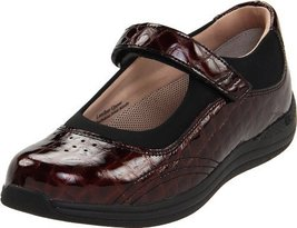 Drew Shoe Women's Rose Mary Jane,Brown Croc,8 WW US [Apparel] - $124.20