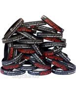 100 Armor of God Wristbands - Ephesians 6:11 Bracelets - Religious Jewelry - $48.39
