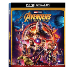 Avengers Infinity War (4K Ultra HD+Blu-ray, 2018)