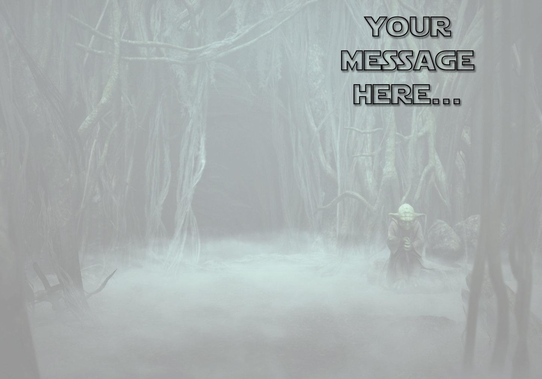 Personalized Star Wars Yoda Birthday And 11 Similar Items