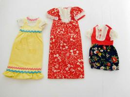 Vintage 1970's Lot of (3) Skipper Best Buy Dresses - $18.99