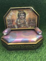 Krishna LED singhasan ( Throne) Laddu Gopal aasan , sofa ( for size 0-5 ... - $39.90