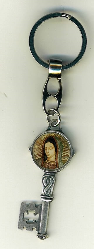 Key ring   our lady of guadalupe 105.0418 f 001