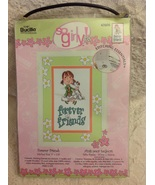 Bucilla So Girly! Forever Friends Cntd X-Stitch Kit - $12.00