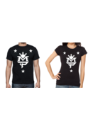 Manny pacquiao logo black shirt with white stars male and female shirts thumbtall