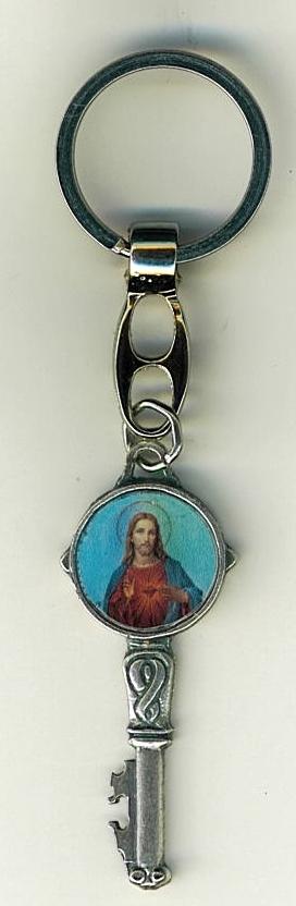 Key ring   sacred heart of jesus 105.0418 g 001
