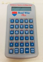Vintage Road Whiz Plus Interstate Travel Guide Model 950 - $8.79