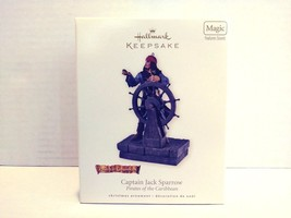 Hallmark Keepsake Pirates Of The Caribbean Capt Jack Sparrow Christmas Ornament - $29.99