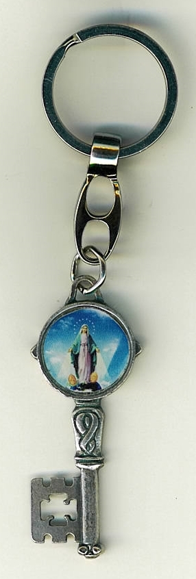 Key ring   our lady of grace 105.0418 j 001