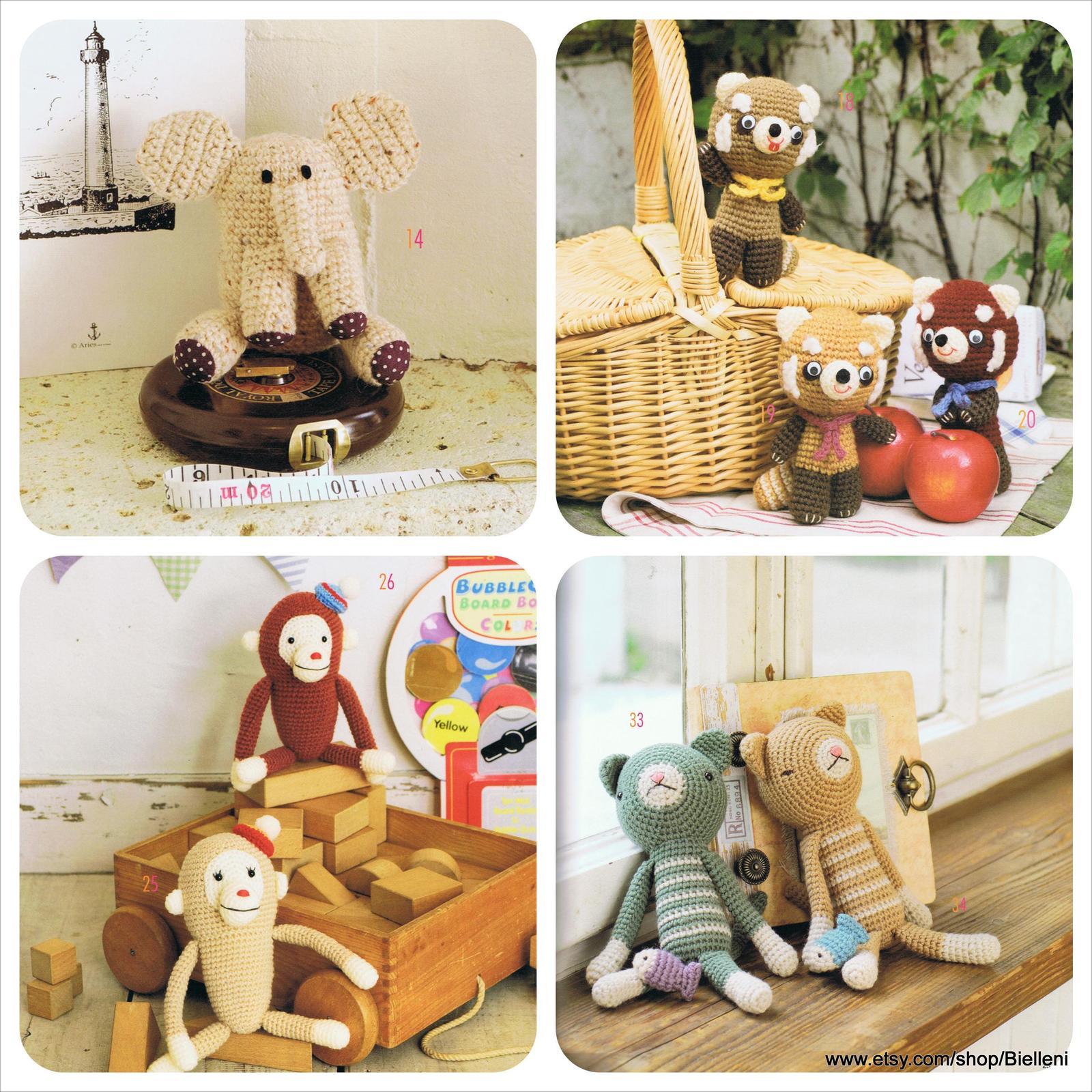 Japanese Amigurumi Doll Patterns : Amigurumi Japanese eBook Pattern (AMI14), Amigurumi ...