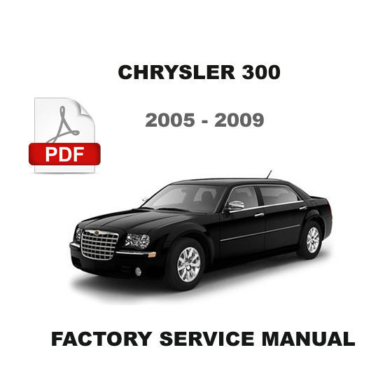 chrysler 300 owners manual 2009