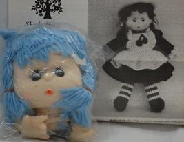 Shady Lanes Crochet Pattern Leaflet 1985 with Westrim Crafts Yarn Hair ... - $15.50