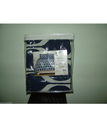 Republic By Idea Nuova Ogee Full/Queen 3 Pc Duvet set, Navy/White Colors... - $59.39