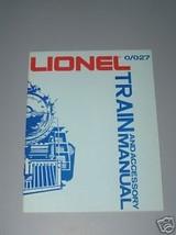 LIONEL O/O27 TRAIN AND ACCESSORY TRAIN MANUAL - $9.99