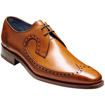 Mens wingtip dress leather shoes, mens formal Brown leather shoes, Mens ... - $169.99