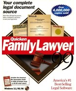 Quicken Family Lawyer 99 [CD-ROM] - $16.82