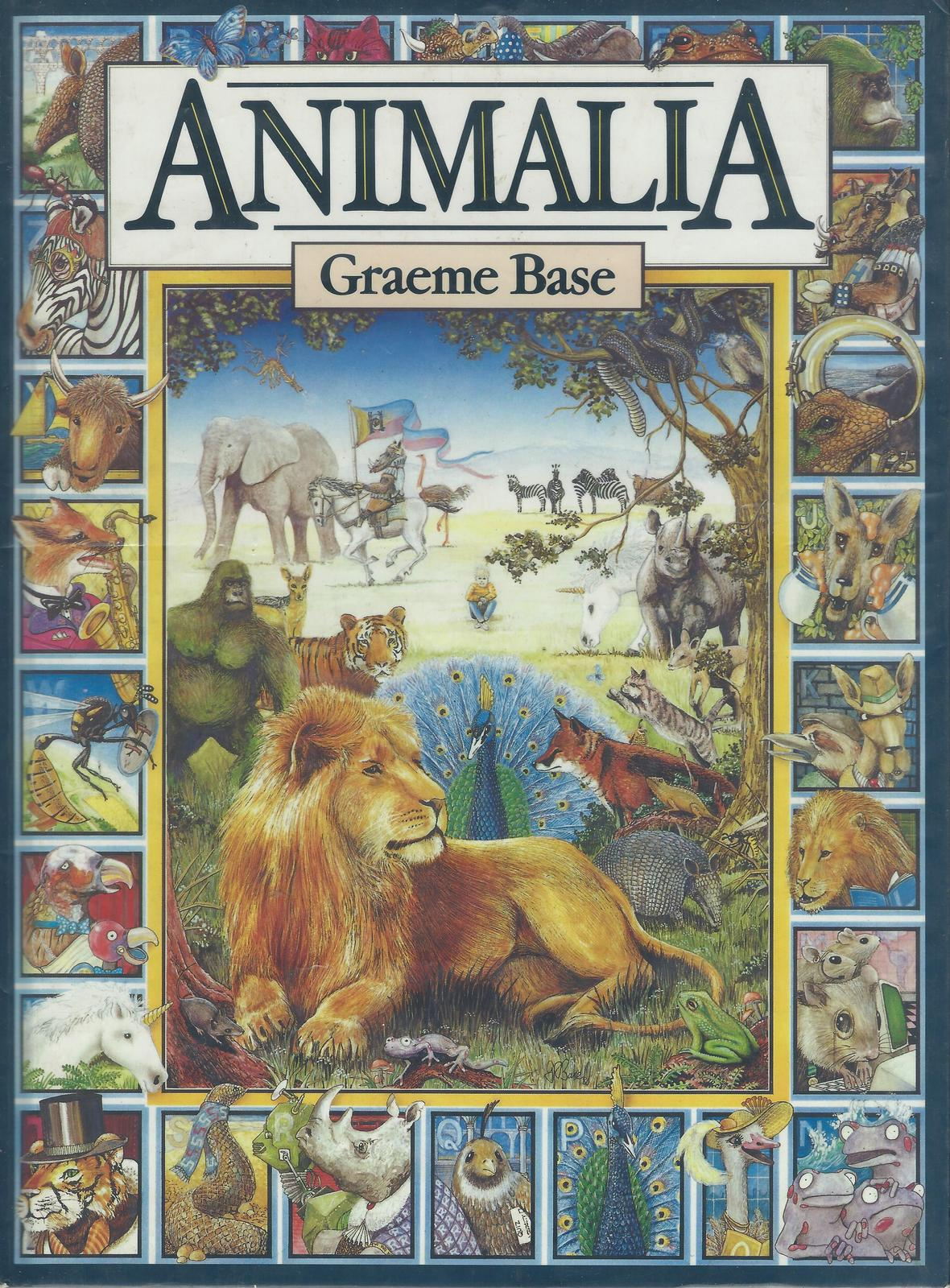 Animalia-Graeme Base-ALLITERATION PRACTICE!SUPER ILLUSTRATIONS