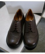 NIB 100% AUTH GUCCI kid brown leather lace up shoes $375 324493 - $188.00