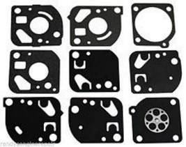 Zama # Gnd 18 Carburetor Gasket Kit For Many C1 Q And C1 U Carbs Genuine - $14.99