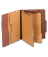 Top Tab Pressboard Folders, Double Divider, Letter Size - $73.29
