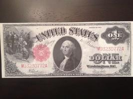 Reproduction $1 United States Note 1917 George Washington/ Columbus Sighting - $2.96