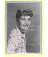 Debbie Reynolds signed photo. Beautifully double matted. - $27.95