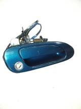 1994-1997 Honda Accord Door Handle Passenger Right Front Outer Teal - $36.62