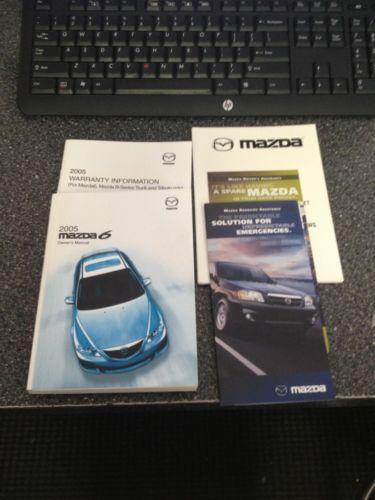 2005 mazda 6 owners manual and 50 similar items rh bonanza com 2005 Mazda 6 Hatchback 2005 Mazda 6 Ignition Wires