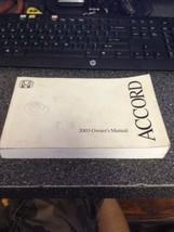 2003 Honda Accord Owners Manual - $19.79