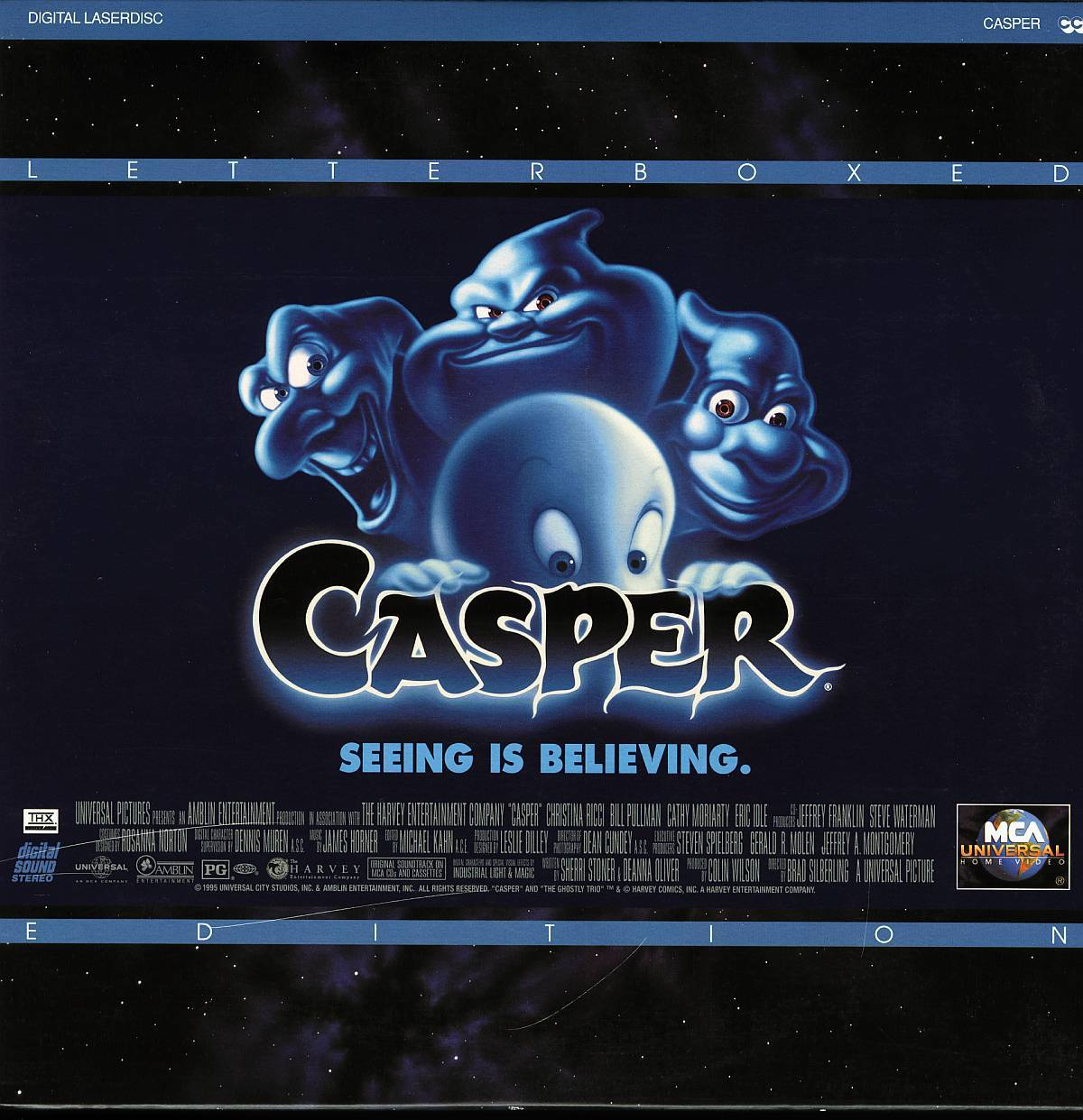 CASPER LTBX CATHY MORIARTY  LASERDISC RARE