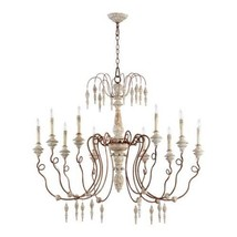 Horchow  Aidan Gray Style Italian Wedding Restoration Vintage Chandelier LARGE - $826.65