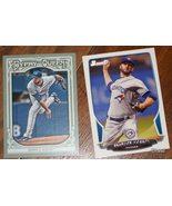 2013 Set of Two Brandow Morrow Baseball Cards- Gypsy Queen & Bowman - $1.50