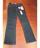 Womens Misses Signature by Levi Strauss At Waist Bootcut Jeans Size 4 Medium  - $3.95