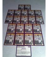 ***WARREN CAPONE***   Lot of 21 cards / LSU - $9.99