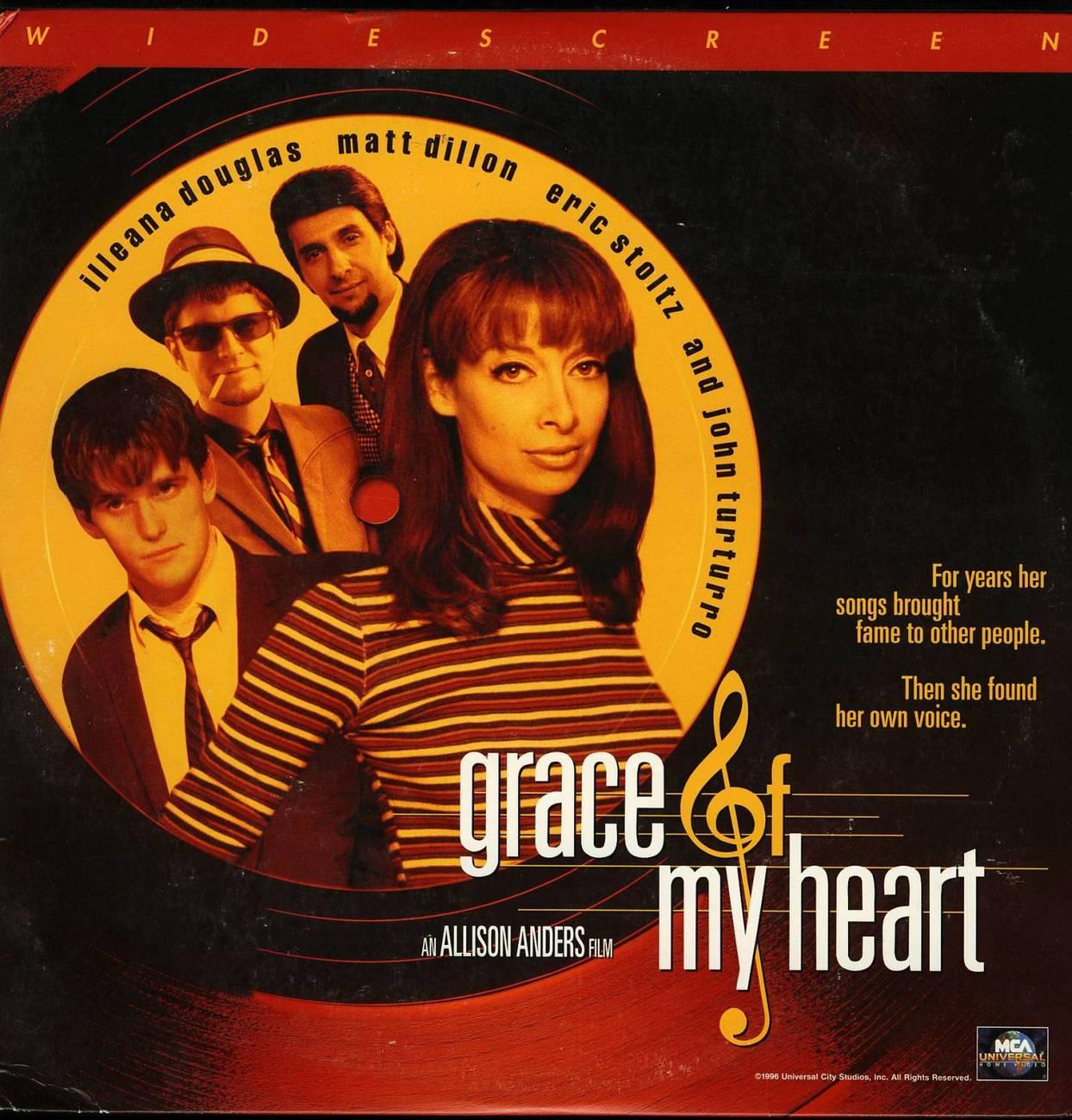 GRACE OF MY HEART LTBX ILLEANA DOUGLAS LASERDISC RARE
