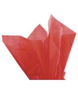 Solid Tissue Paper Mandarin Red 20 x 30 - $37.00