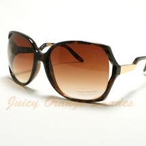New Womens Sunglasses Celebrity Oversized Fashion Stylish Eyewear TORTOISE - $7.87