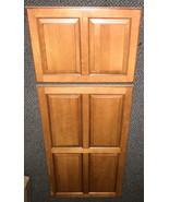 6 Panel Solid Wood Refrigerator Door Insert Set - $89.10